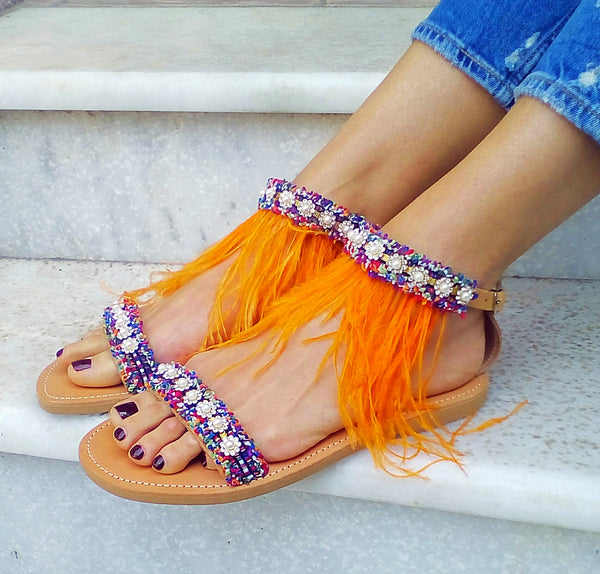 ORANGE KISS - gogosandals