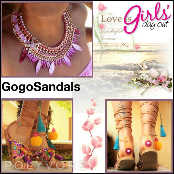 Coral Reef necklace - gogosandals