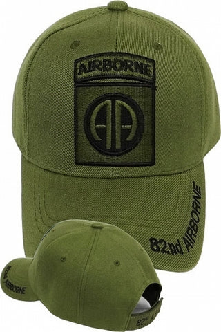 82nd Airborne Division Tone-On-Tone Mens Cap