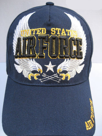 U.S. AIR FORCE VETERAN WHITE EAGLE HAT