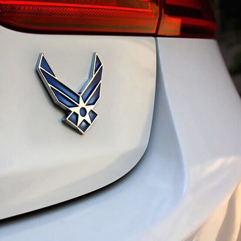 U.S. Air Force 3D Metal Car Decal