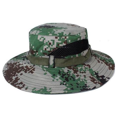 4a03b65cc19 ... low price navy blue camo airsoft sniper camouflage tactical paintball  boonie hats 62478 e20e9