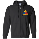 2nd Armored Division - Zip Up Hoodie