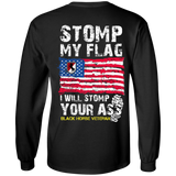 11th Armored Cavalry Regiment - Stomp My Flag I Will Stomp Your Ass
