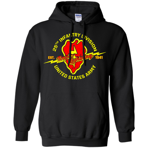 25 Infantry Division Tropic Lightning Shirt Hoodie