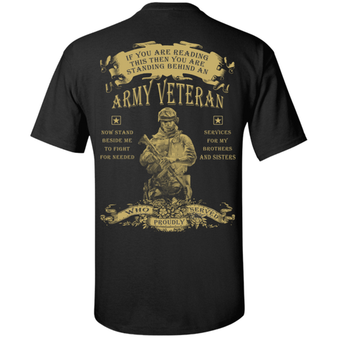 Army Veteran - Proudly Served