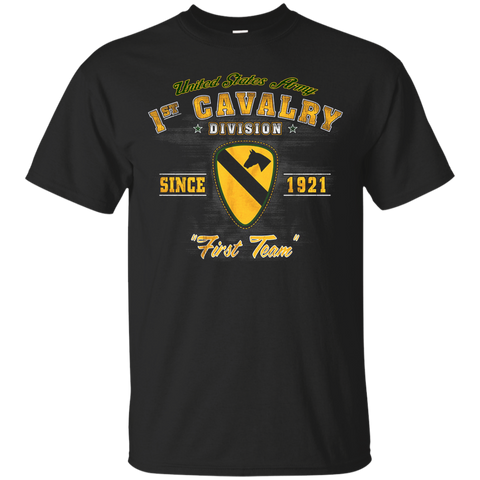 "1st Calvary Division - ""First Team"" Since 1921"