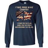 U,S, Veteran I Take Pride In My Country Shirt