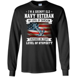 U.S. Navy My Level Of Sarcasm Shirt