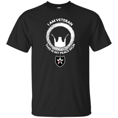 2nd Infantry Division This Is My Peace Sign American Pride Tee