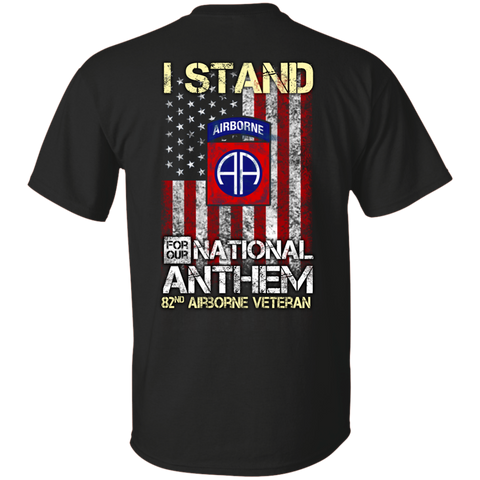 82nd Airborne - I stand for our national anthem