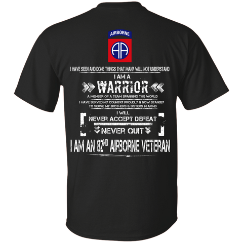 I AM A 82nd Airborne Veteran