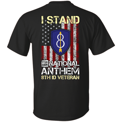 8th Infantry Division - I stand for our national anthem