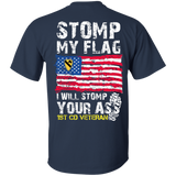 1st Cavalry Division - Stomp My Flag I Will Stomp Your Ass
