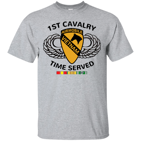 1st Cavalry - Time Served