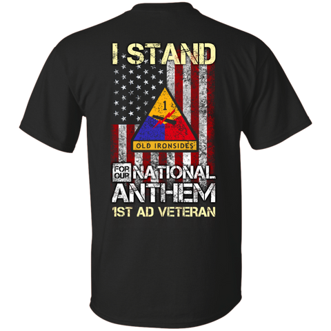 1st AD - I stand for our national anthem