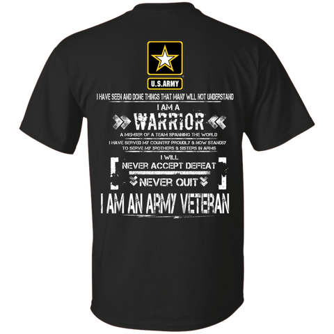 I AM AN ARMY VETERAN