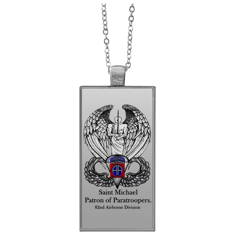 pewter st inch chain necklace w catholic company michael the medal