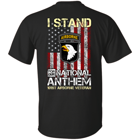 101st Airborne Division - I stand for our national anthem