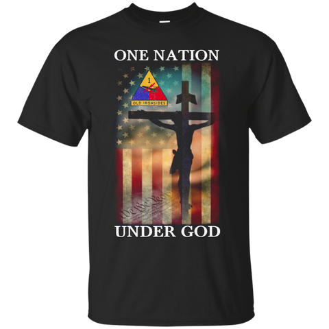 1st Armored Division - One Nation Under God