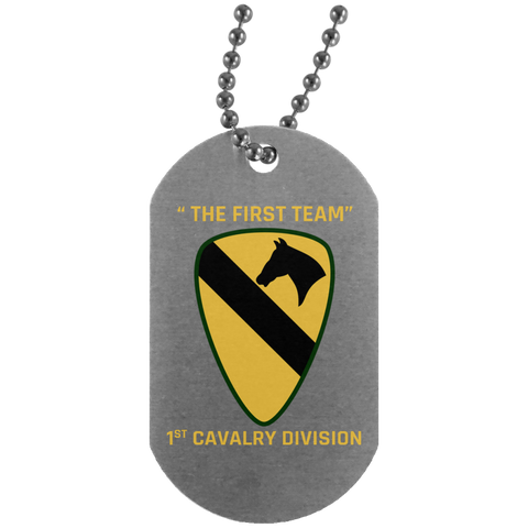 "1st Cavalry Division - ""The First Team"""