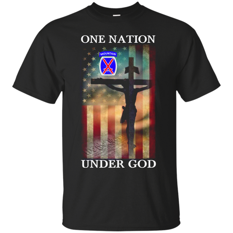10th Mountain Division - One Nation Under God