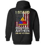 2nd Armored Division - I stand for our national anthem