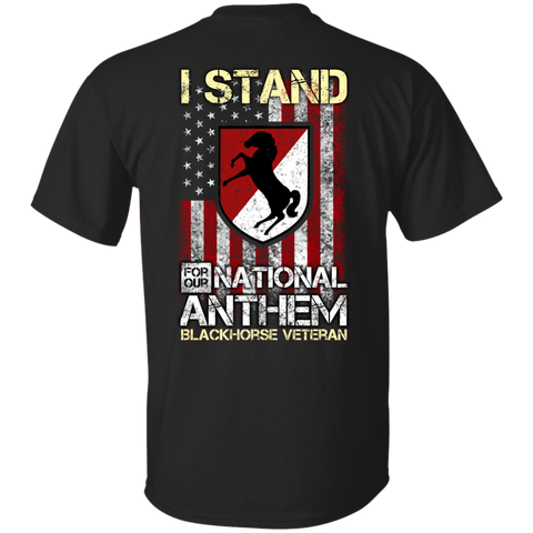 11th Armored Cavalry Regiment - I stand for our national anthem