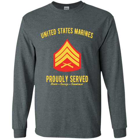 United States Marines Proudly Served Sergeant E-5