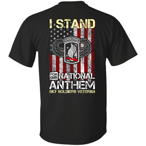 173rd airborne brigade - I stand for our national anthem