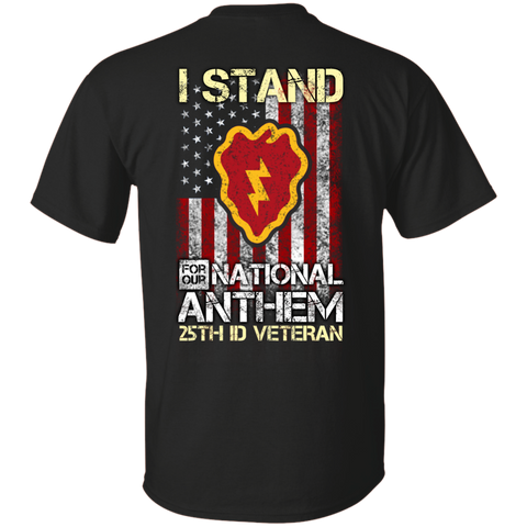 25th Infantry Division - I stand for our national anthem