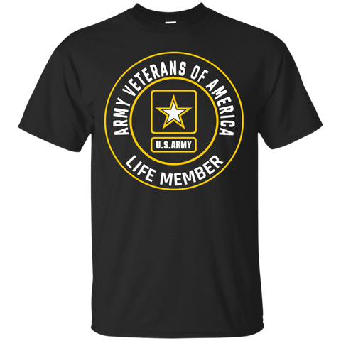 Army Veterans Of America - Life Member Zip up Hoodie