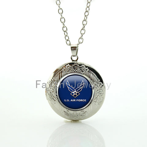 Us air force logo pendant necklace american pride tee us air force logo pendant necklace aloadofball Choice Image