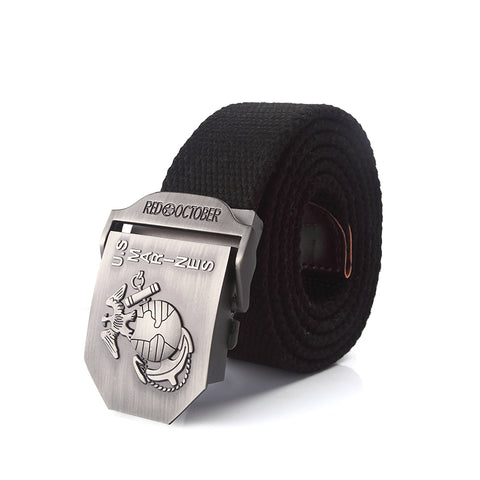 U.S. Marines Alloy Buckle Canvas Belt