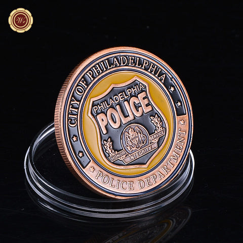 U.S. Philadelphia Police Department Challenge Coin Commemorative Coin