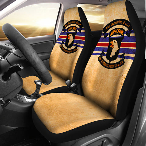 101st Airborne Seat Covers