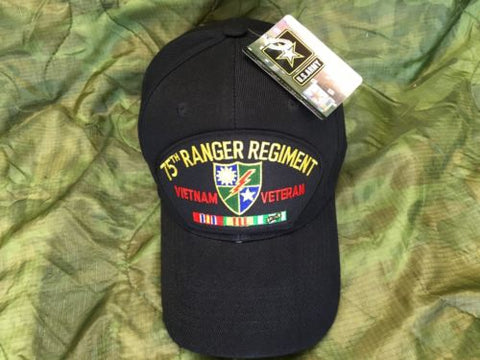 U.S. 75TH Ranger Regiment Vietnam Veteran Hat