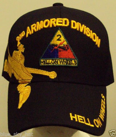 2ND ARMORED DIVISION - HAT