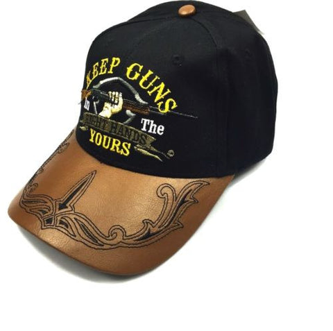 Keep Your Guns in the Right Hands The 2nd Amendment Hat Cap Embroidered