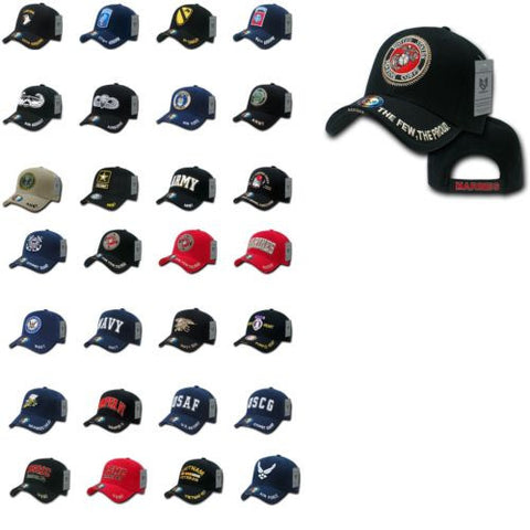 USA Veteran Military Baseball Hats Caps