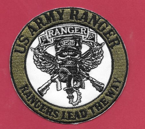 New Us Army Ranger Rangers Lead The Way 3 12 Iron On Patch