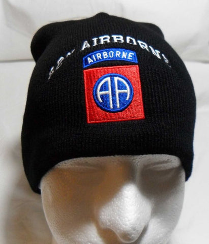 82nd AIRBORNE  Watch Cap Beanie Winter Ski Hat Toboggan Officially Licensed