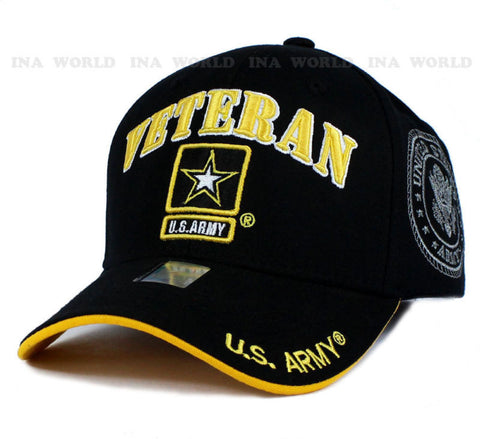 U.S. Army VETERAN Black Hat