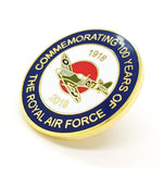 U.S. Air Force 100 Years Of RAF Royal Air Force Enamel Lapel Pin