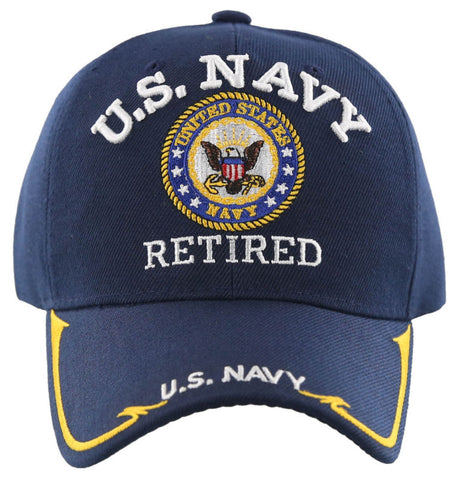 3ae90f0ce99 ... cheapest u.s. navy retired round side line hat 5aa6e 2db85