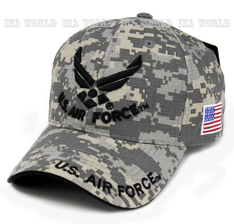 USAF Military Official Licensed Camo Baseball cap