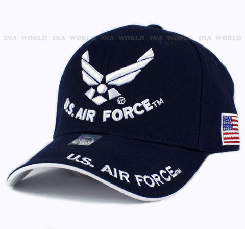 U.S. AIR FORCE blue hat cap