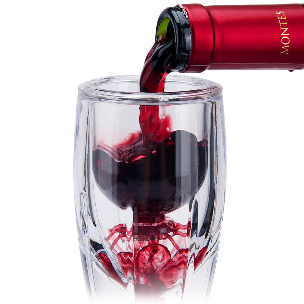 Vintorio Omni Wine Aerator Red Wine Pour
