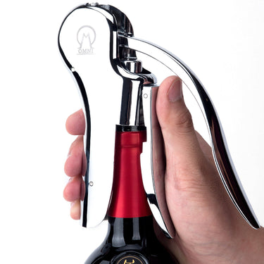 Omni Screw-Pull Lever Wine Bottle Opener - Vintorio