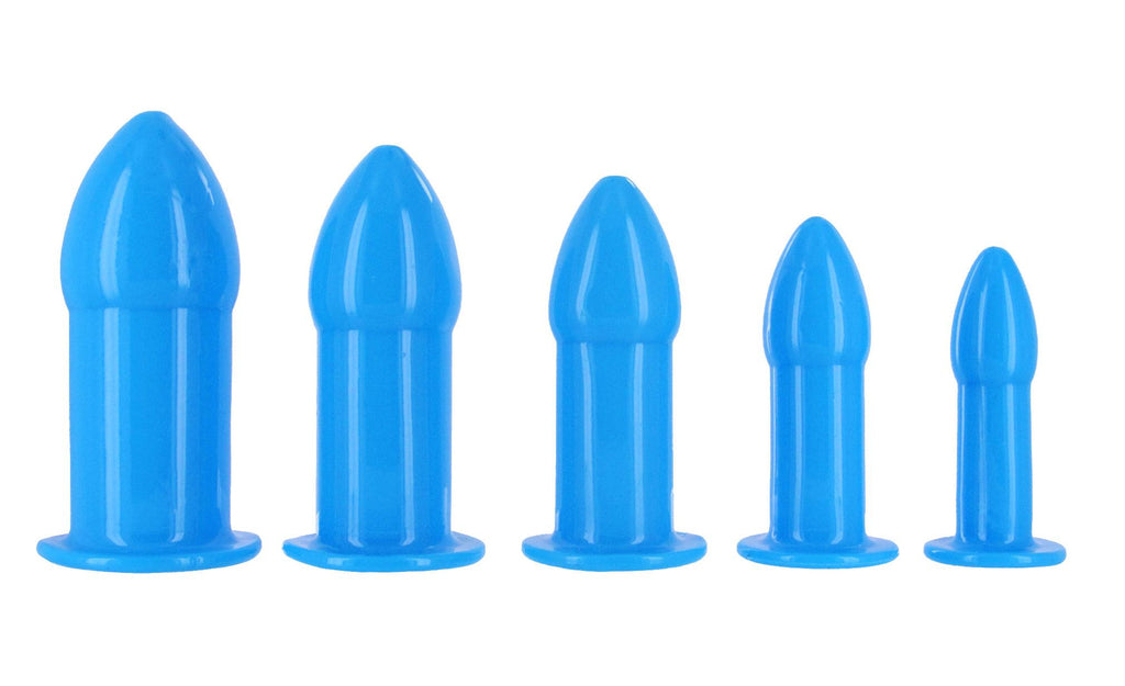 Sky Blue Anal Dilator Kit - Bedroommadness - 2